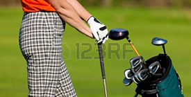 19613821-mature-woman-with-golf-bag-playing-golf
