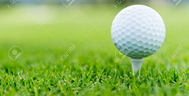22423257-Close-up-of-a-ball-at-the-golf-course-Stock-Photo